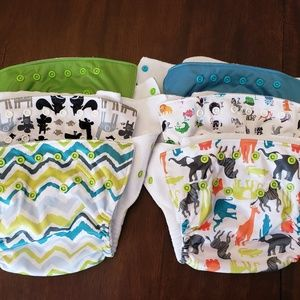 Fuzzibunz perfect size cloth diapers